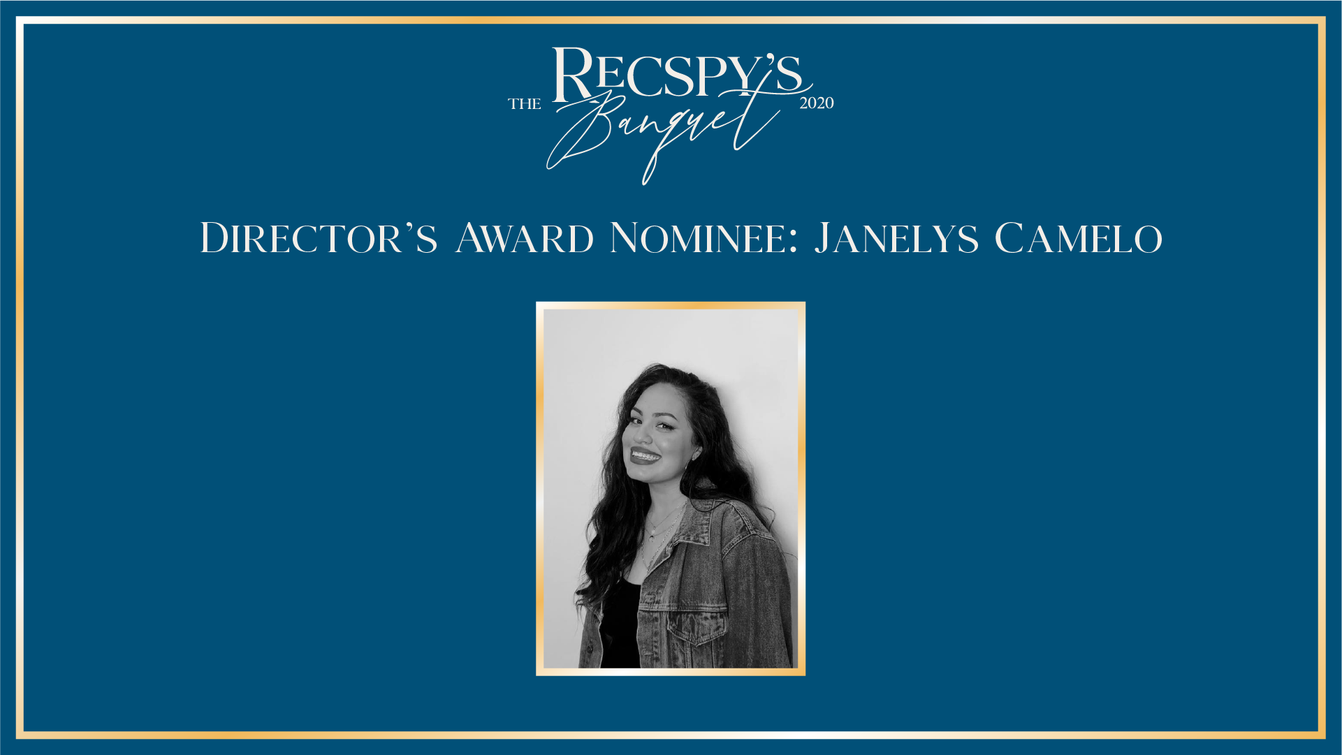 Director's Award Nominee: Janelys Camelo