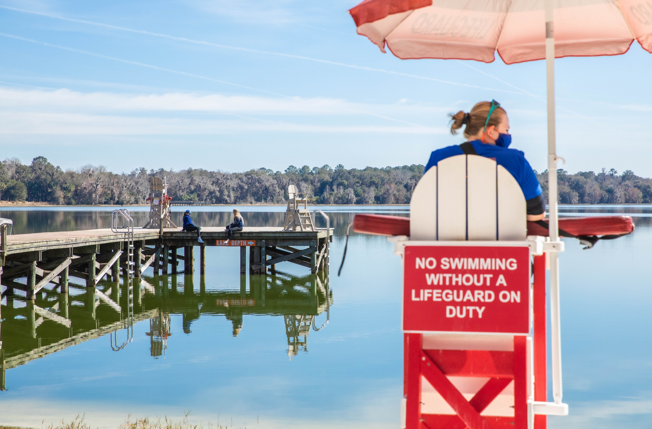 Lake Wauburg Swimming Area